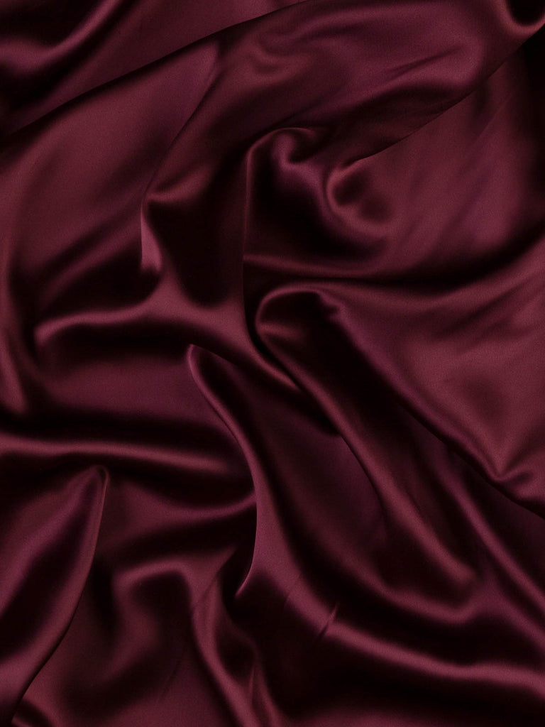 Plum - Double Faced Duchess Satin