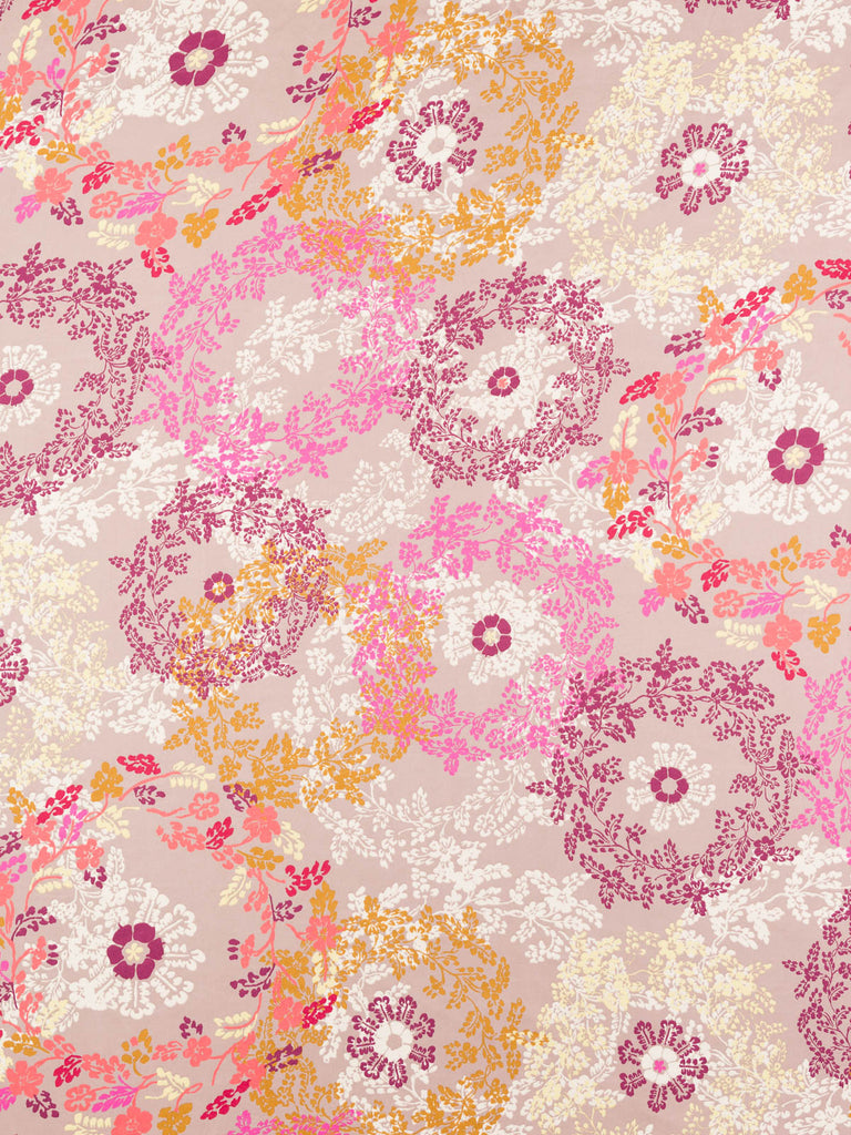 Floral Lace Doilies - Lilac and Pink - Fabworks Online