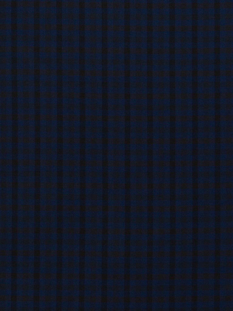 April Showers Gingham - Black and Navy - Fabworks Online