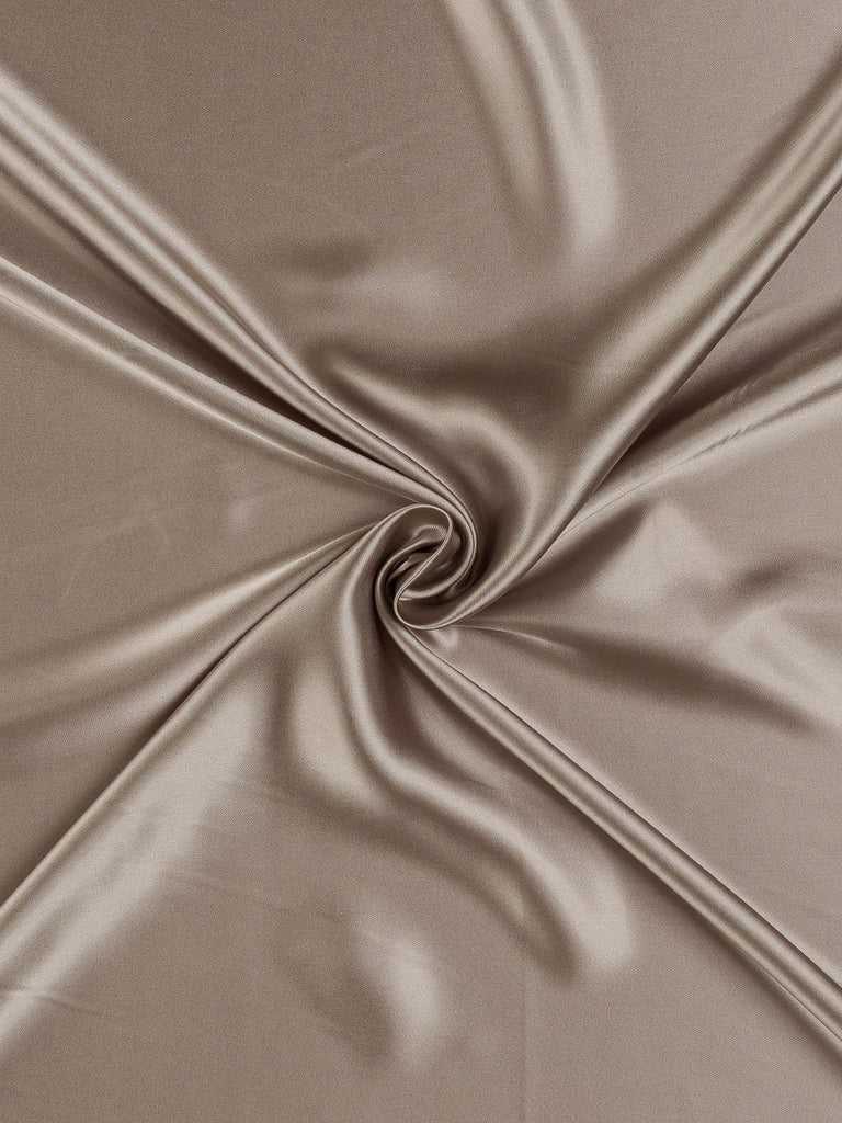 Fine Acetate Satin Twill - Taupe Oyster