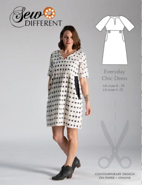 Everyday Chic Dress Pattern - Sew Different