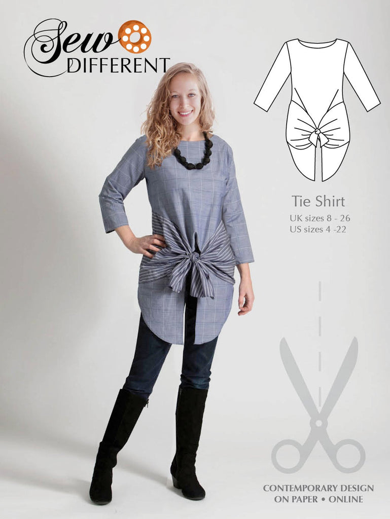 Tie Shirt Pattern - Sew Different