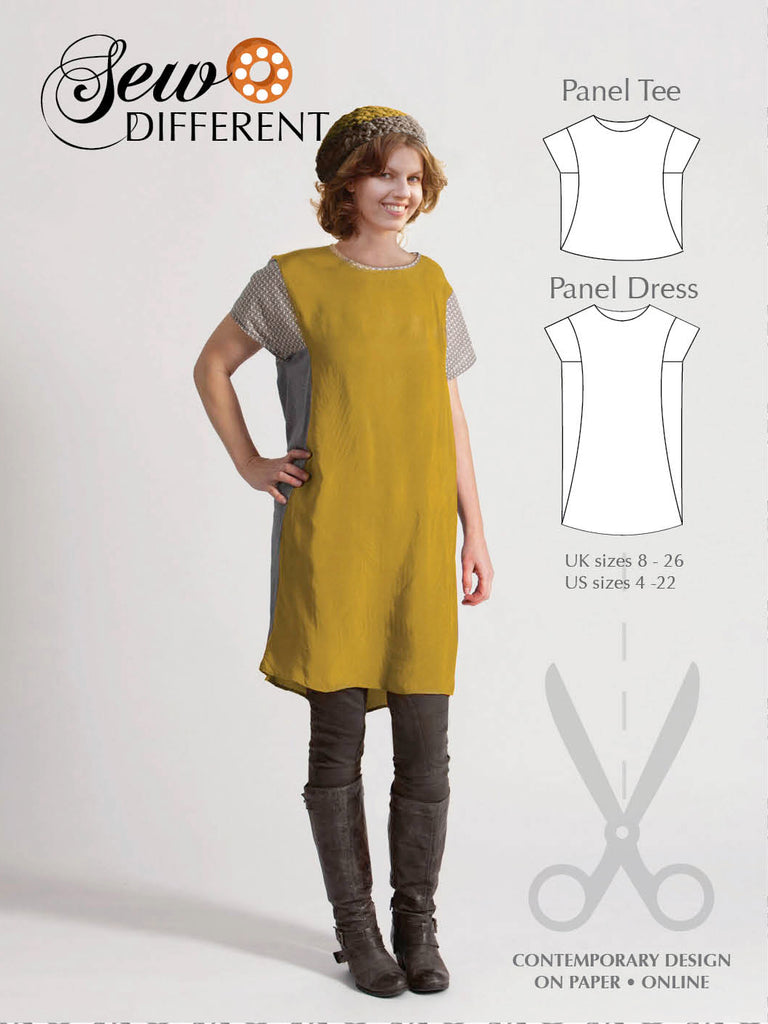 Panel Dress Pattern - Sew Different