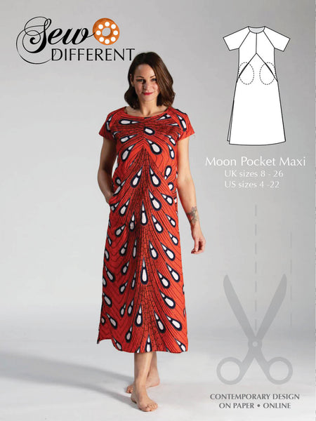 Moon Pocket Maxi Pattern - Sew Different