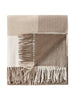 Mocha, Beige & Winter White - Lambswool Throw - Fabworks Online