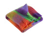 Rainbow Check - Mohair Throw - Fabworks Online