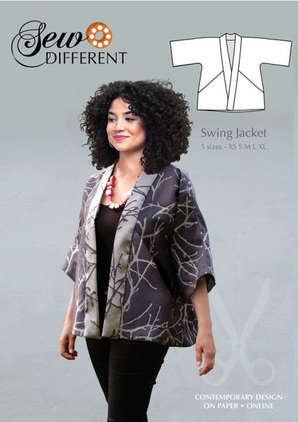 Swing Jacket Pattern - Sew Different