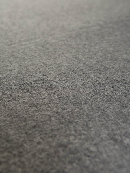 Marvelous Grey Marl - 100% Virgin Wool Boiled Wool - Fabworks Online