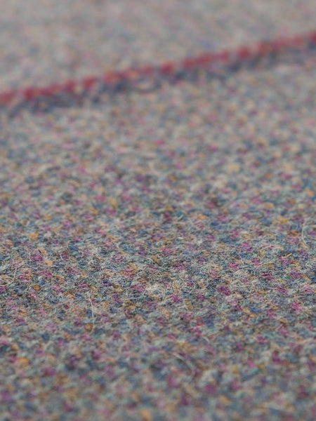 Yorkshire Mixtures Tweed Stripe - Dusty Duck Egg - Fabworks Online