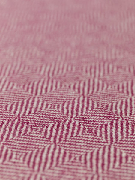 Purple Maze - Jumbo Diamond Weave - Yorkshire Tweed