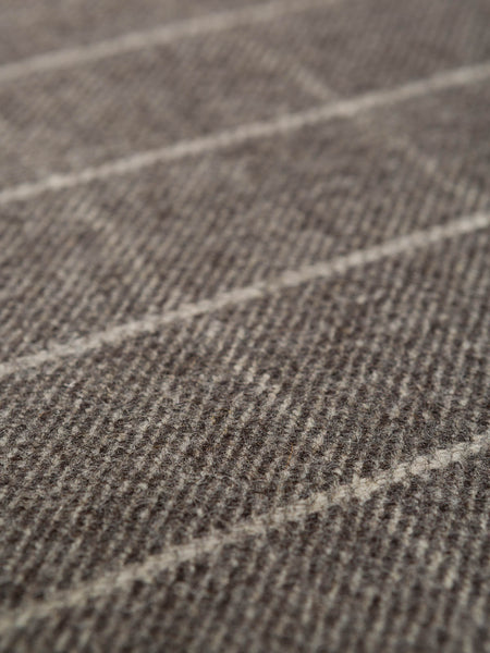 Dark Limestone & Frost Check - Eco Wool