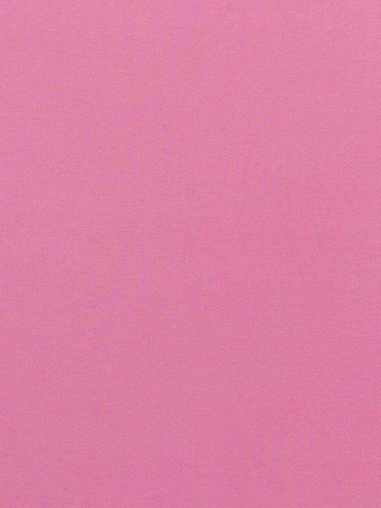 Soft Rose Pink - Tubular Organic Cotton Interlock