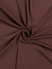 Swiss Chocolate - Tubular Organic Cotton Interlock - Fabworks Online