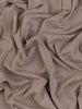 Micro Stripe - Mocha - Organic Cotton Tubular Interlock