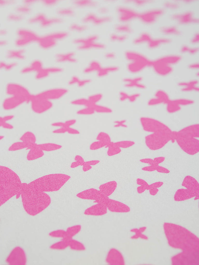 Kaleidoscope of Butterflies - Organic Cotton Interlock