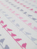 Bird On A Wire (Lavender Mix) - Organic Cotton Interlock