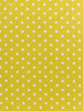 Chartreuse Green and White Polka Dot - Organic Cotton Poplin