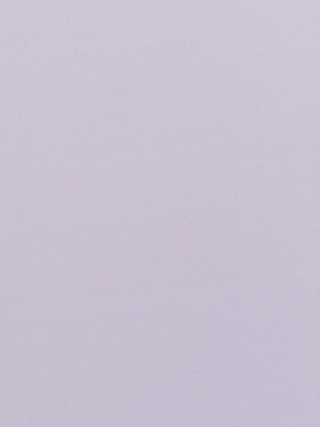Pale Lilac - Tubular Organic Cotton Interlock - Fabworks Online