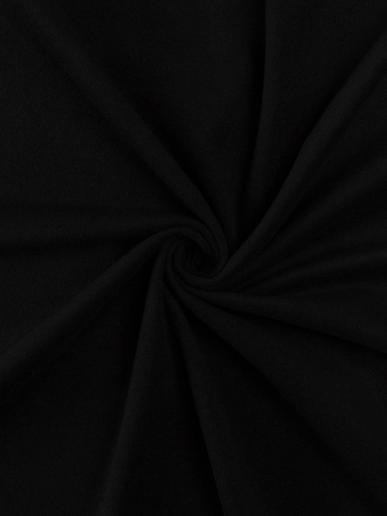 Black Jack - Felted Wool Coating - Fabworks Online