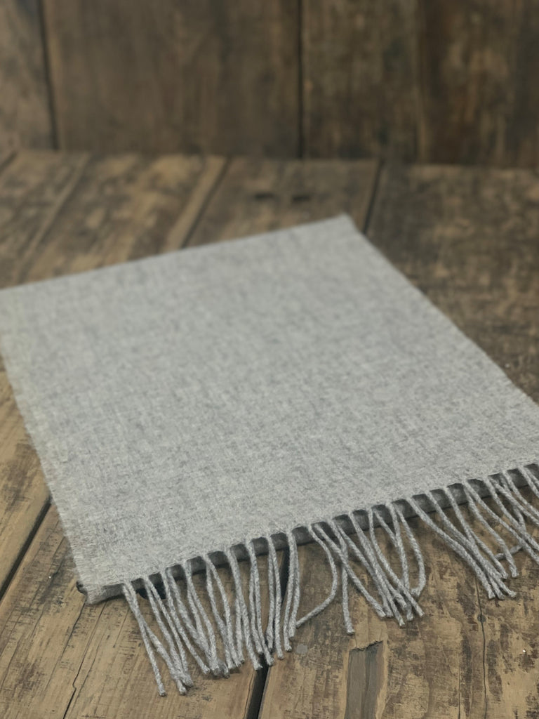 Oatmeal Comfort – Yorkshire Wool Scarf