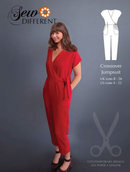 Crossover Jumpsuit Pattern - Sew Different