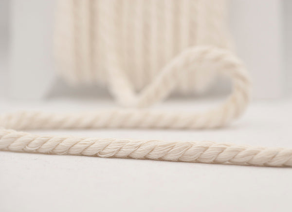Twisted Chunky Cord - White