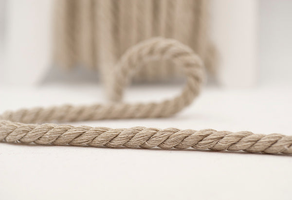 Twisted Chunky Cord - Putty