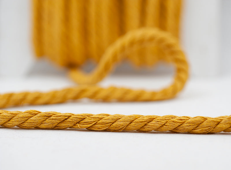 Twisted Chunky Cord - Mustard