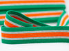 Flat Webbing Stripe - Green / Grey / Orange