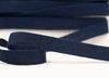 Flat Woven 25mm Braid - Navy