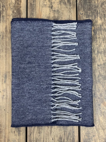 Midnight Chimneys - Yorkshire Wool Scarf (Soft)