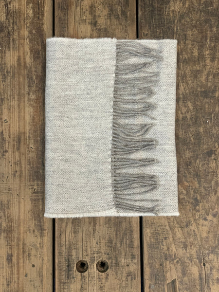 Cool Ash - Yorkshire Wool Scarf (Soft)