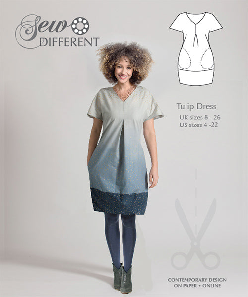 Tulip Dress Pattern - Sew Different