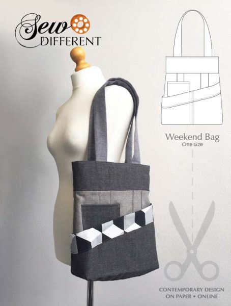 Weekend Bag Pattern - Sew Different