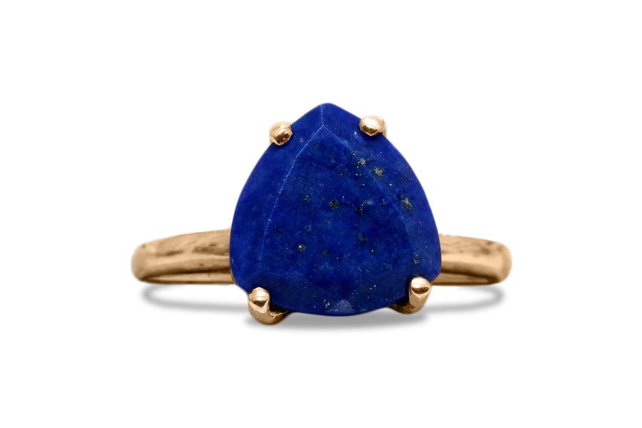 Lapis Lazuli Ring - 925 Sterling Silver Women Jewelry - Artisan-made Fine Jewelry Rings