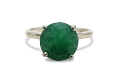 Green Agate 925 Silver Jewelry for Women - Bridal Rings, Vintage Rings, Handmade Rings