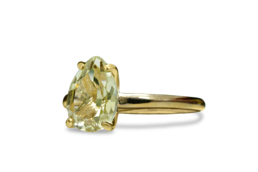 Gem Jewelry for Women - Lemon Quartz Jewelry in 14k Gold-filled Band - Fine Jewelry for Every Occasion