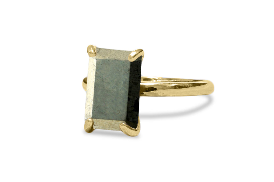 Pyrite Ring - Artisan-made Sterling Silver Ring - Jewelry Ring That Exudes Beauty and Elegance