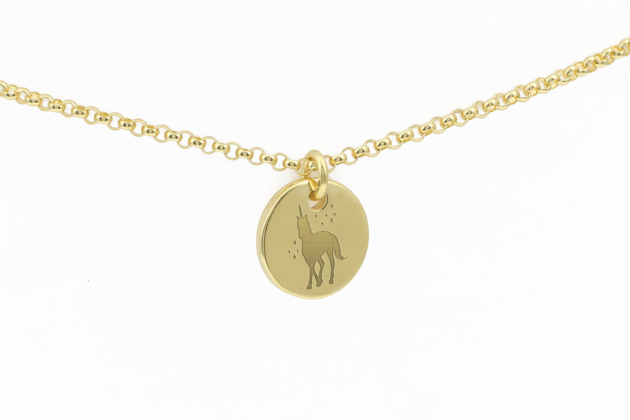 Dainty Unicorn Necklace for Women and Girls