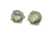 Labradorite Earrings - Handmade 925 Silver Earrings for Women for Weddings, Birthday, Valentines, Prom Jewelry