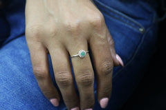Delicate Aventurine Ring - Handcrafted 925 Ring, Teen Jewelry, Womens Fashion Jewelry and Gifts for Her