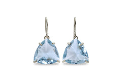 Topaz Earrings for Women in 14k Gold - Fashionable Fine Jewelry for Women, Mom Jewelry, Gift Jewelry