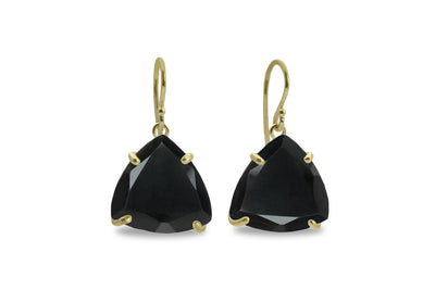 Black Onyx Earrings in 14k Gold - Unique Earrings for Women for Any Occasion - Handcrafted Onyx Jewelry for Women