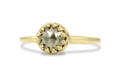 Pyrite Jewelry Ring in 14k Gold Filling - Mom Ring, BFF Jewelry, Sister Ring, Anniversary or Birthday Gifts for Her