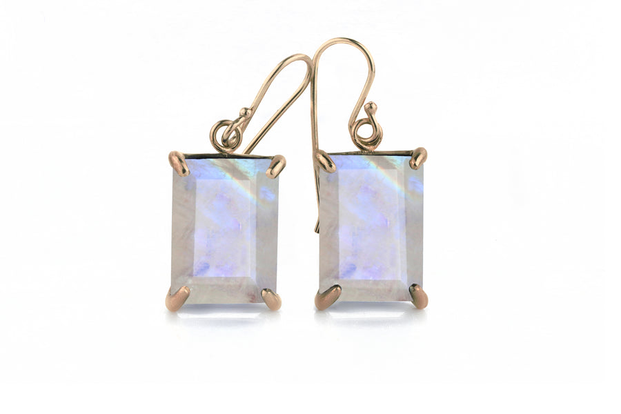 Charming Statement Moonstone Earrings