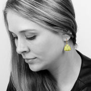 925 Sterling Silver Earrings with Lemon Quartz - Lustrous Stone Earrings for Women for Occasions and Everyday Wear