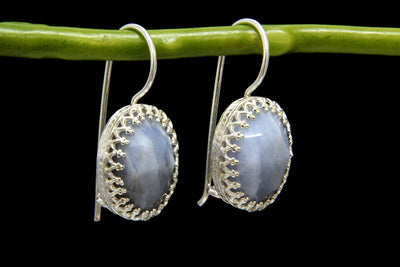 agate earrings,silver earrings,gemstone earrings,dangle stone earrings,silver stone jewelry