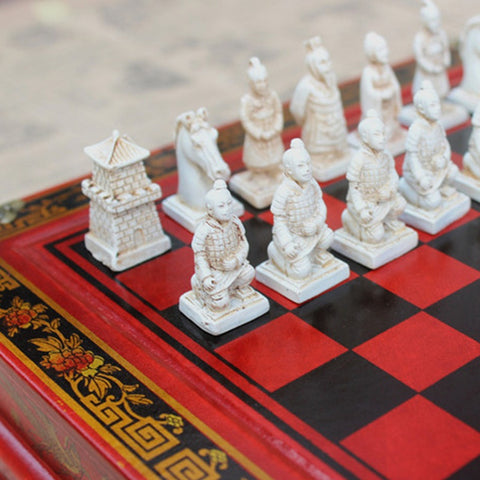 themed chess set