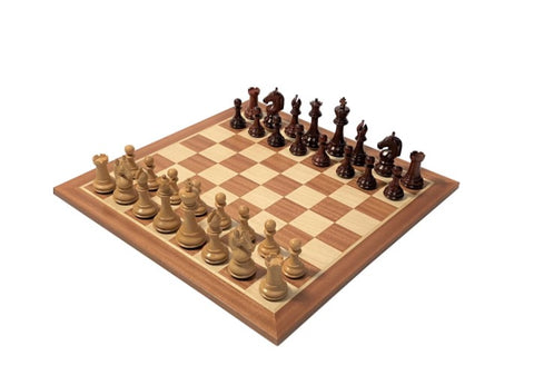 Official staunton chess set  chesslayout