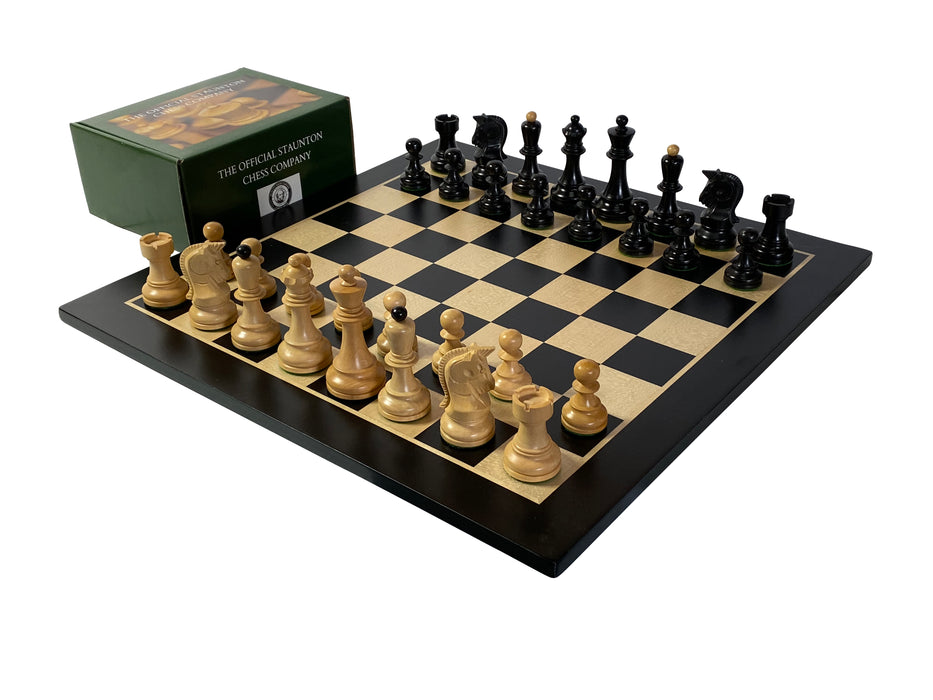 Anegre Dubrovnik Chess Set Combination - Official Staunton™